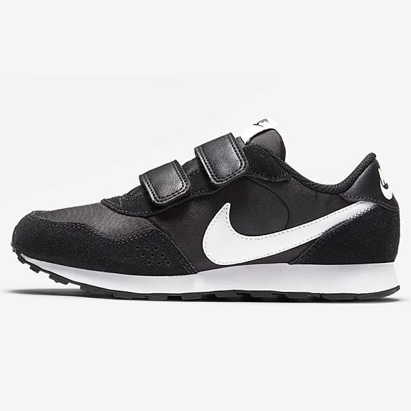 【現貨】Nike MD Valiant PSV 童鞋 中童 休閒 麂皮 魔鬼氈 黑【運動世界】CN8559-002