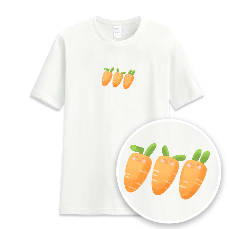 紅蘿蔔兔子短袖衫-GT01