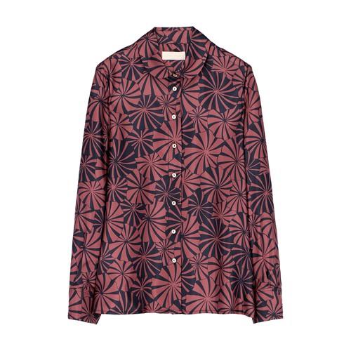 Anansi Shirt In Silk Twill