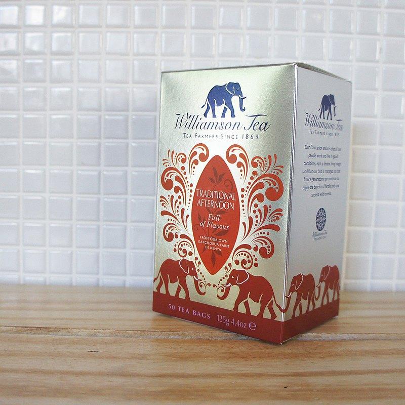 傳統下午茶TRADITIONAL AFTERNOON / 圓片茶包系列(50個圓片茶包)