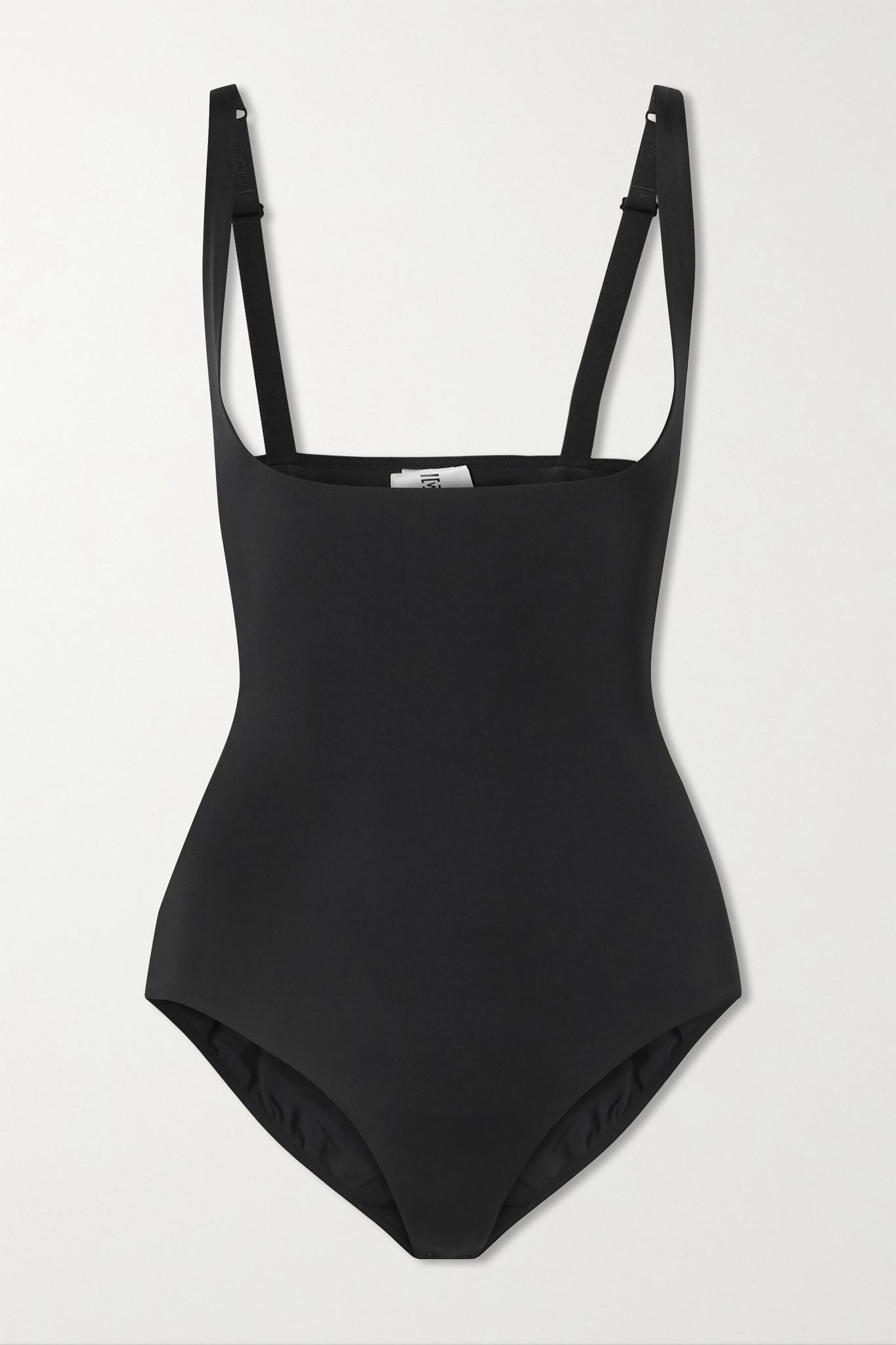 WOLFORD - Mat De Luxe Stretch-jersey Bodysuit - Black - FR36
