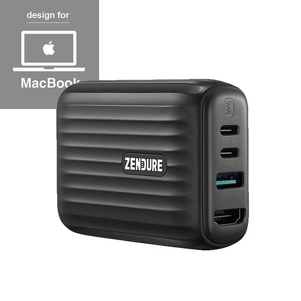 【南紡購物中心】Zendure 48W SuperHub 多合一充電集線轉接器 (Mac款)