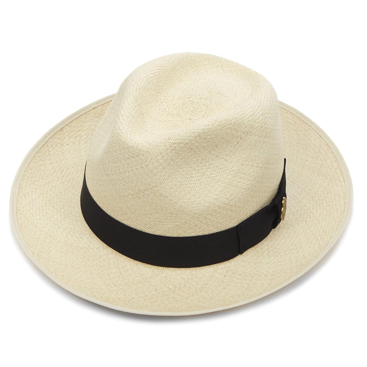 Highgrade Preset Panama Hat - Semi Bleached 61