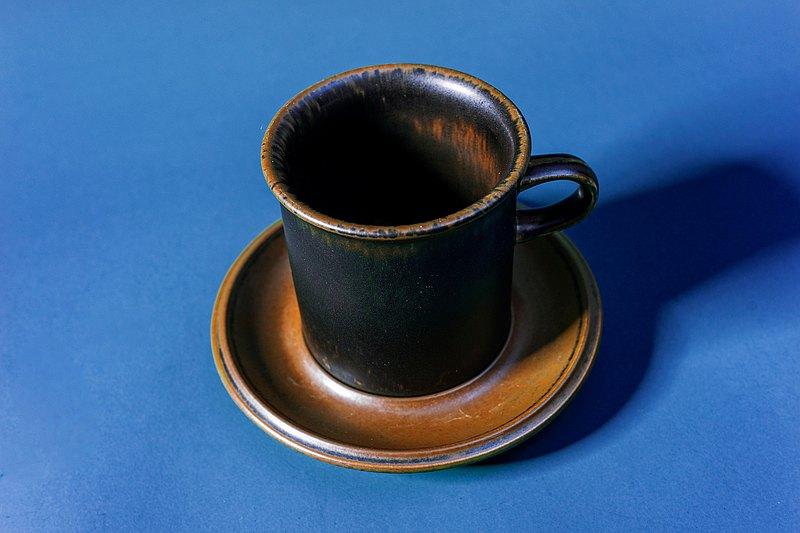 芬蘭製ARABIAーRuska系列杯盤組ー大
