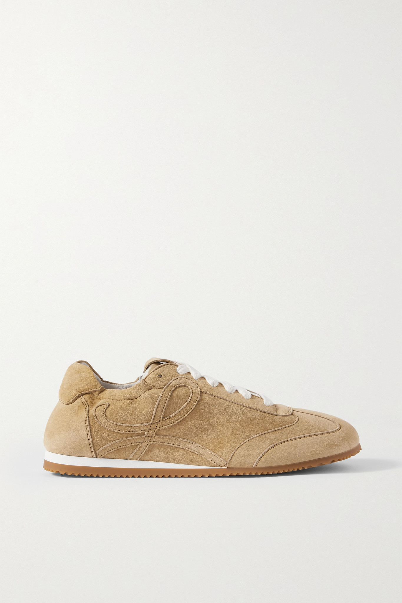 LOEWE - Ballet Suede Sneakers - Neutrals - IT37