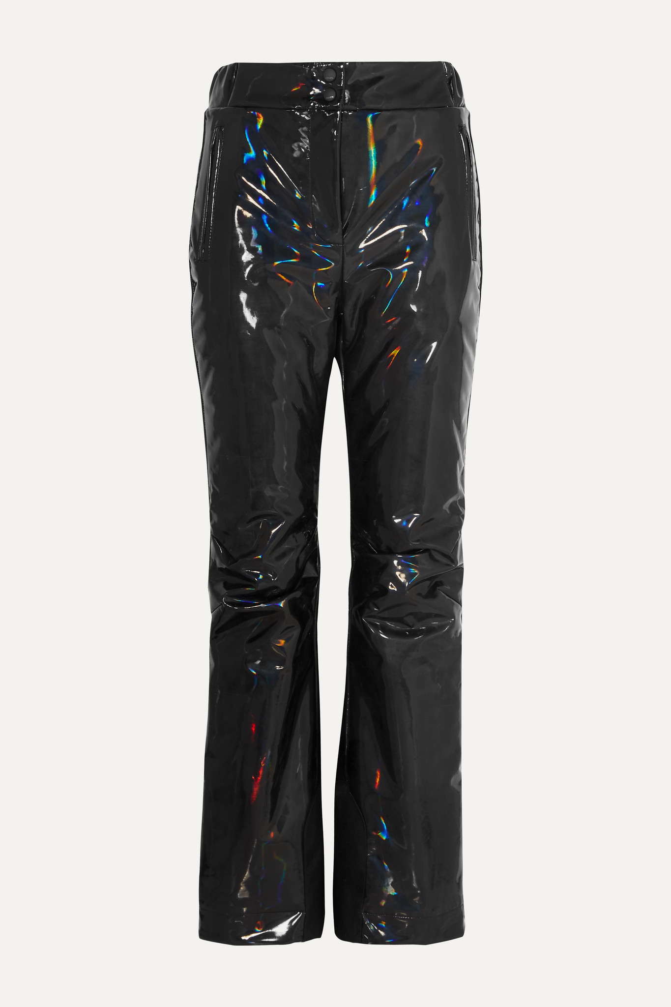 FENDI - 贴花全息填充滑雪裤 - 黑色 - IT42