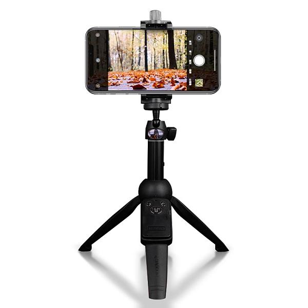 雲騰YT-9928自拍杆+三腳架+自拍遙控 手機拍照直播抖音支架 攝影器材20-100cm 多功能自拍桿