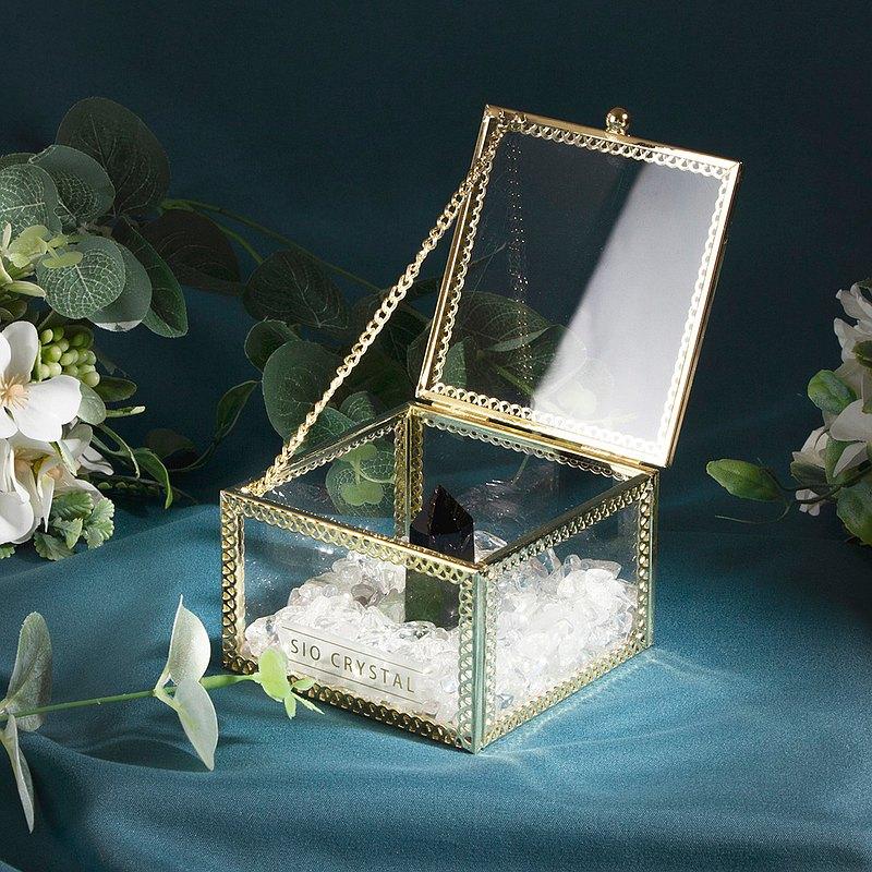 水晶手鍊消磁盒_水晶收納盒_水晶充電盒