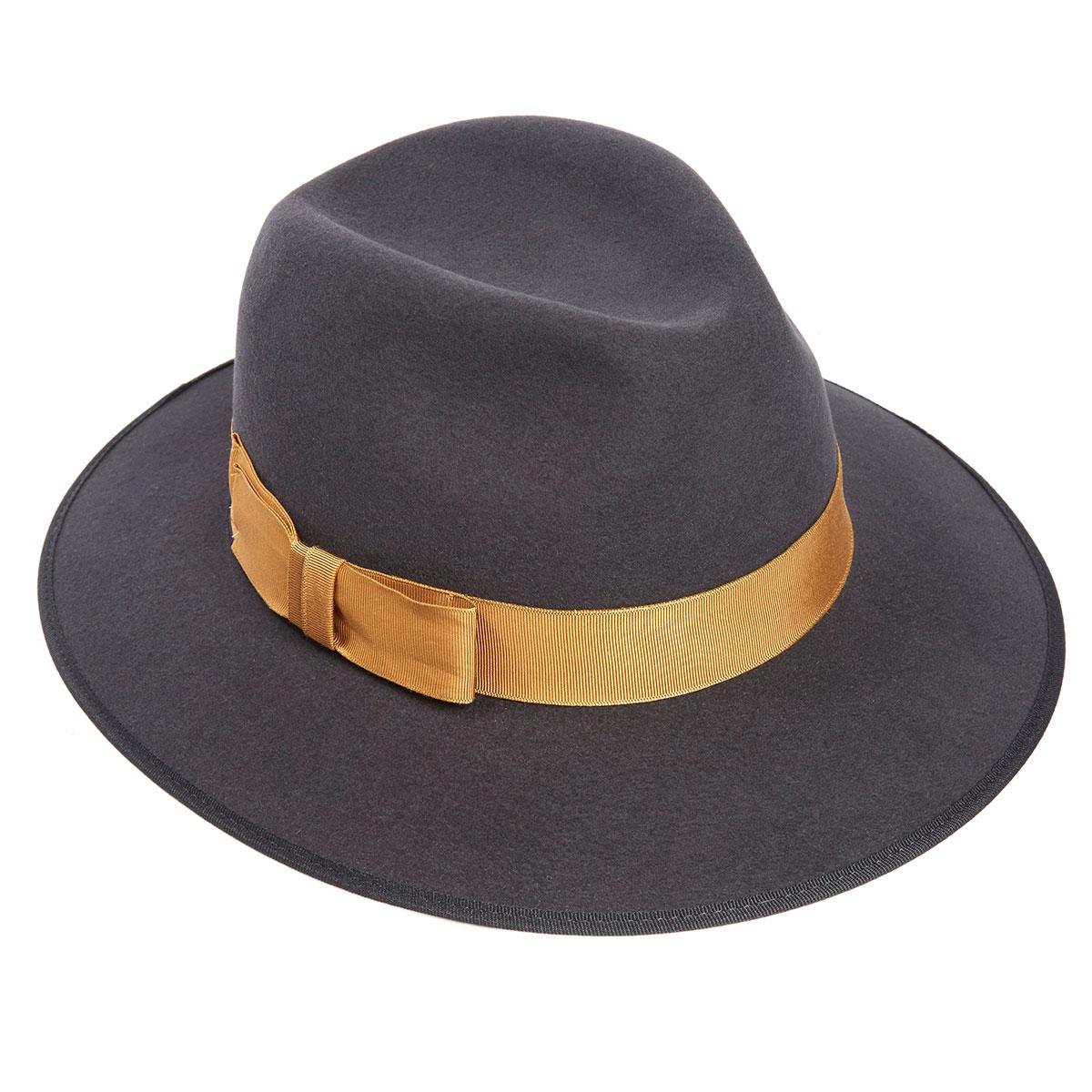 Sophia Fur Felt Trilby Hat - Bessemer in Size 60cm
