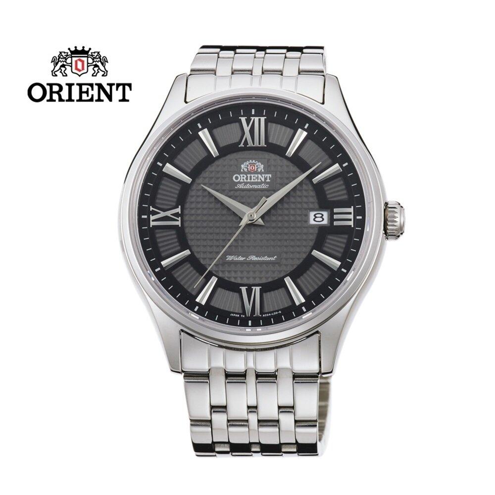 ORIENT 東方錶 CLASSIC系列 鋼帶款 深灰色  SAC04003A - 43.0 mm