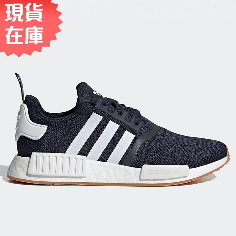 Adidas NMD_R1 男鞋 女鞋 慢跑 休閒 BOOST 襪套 藍【運動世界】G55574