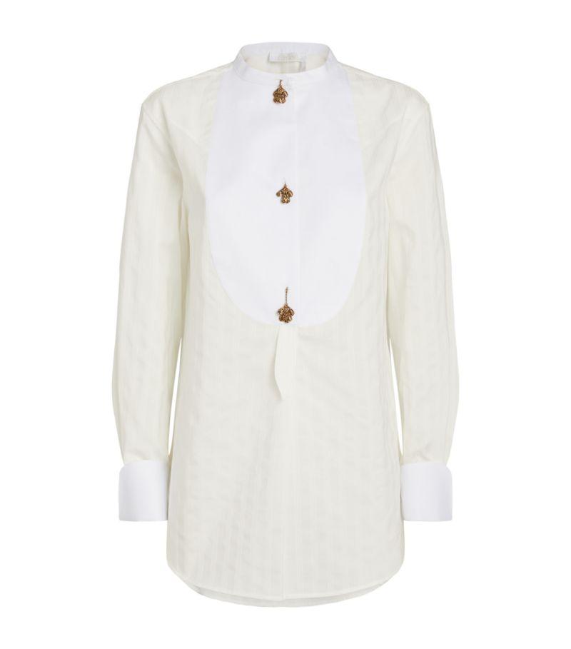 Chloé Bib-Detail Shirt