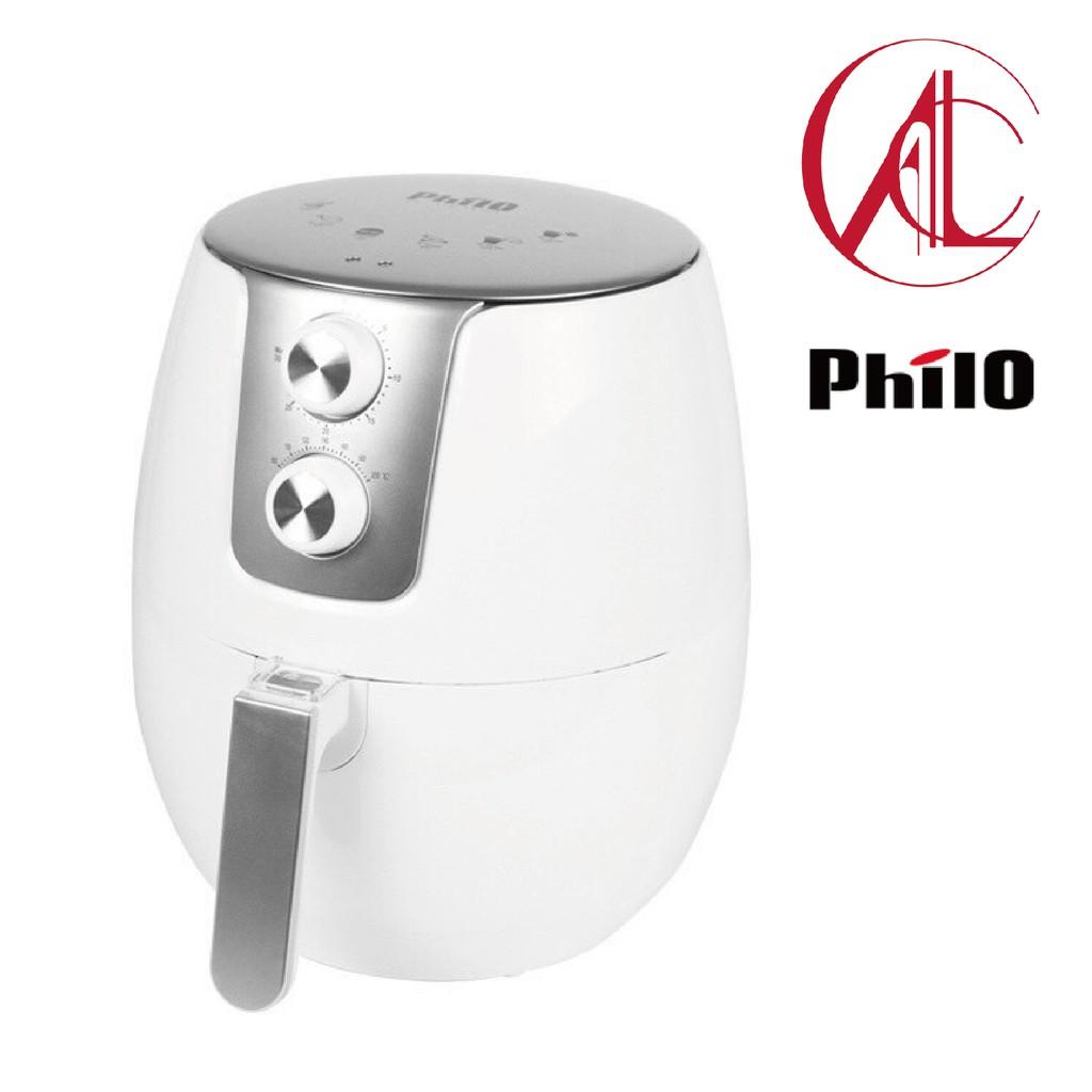 Philo飛樂 大白熊健康免油氣炸鍋 K30 4.5L大容量 公司貨