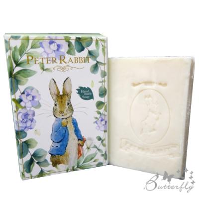 BUTTERFLY-台製MIT-比得兔Peter Rabbit彼得兔經典手工皂-梔子花蜂蜜牛奶100g手工皂
