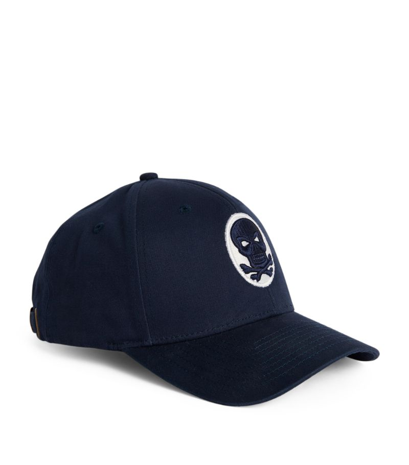 Amedeo Skull And Crossbones Baseball Cap