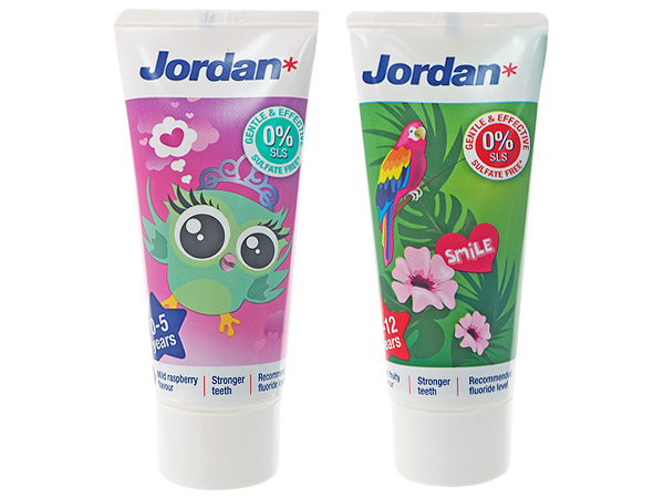 挪威 Jordan~清新水果味兒童牙膏(50ml) 兩款可選【D071519】圖案隨機出貨