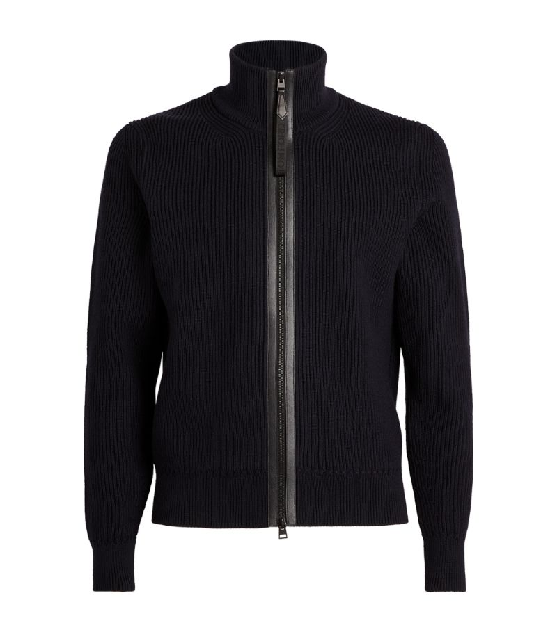 Tom Ford Zip-Up Sweater