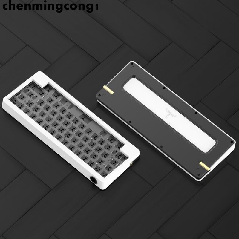 鍵盤配件 KBDfans 客制化60% D60套件組裝HHKB佈局gasket結構diy機械鍵盤
