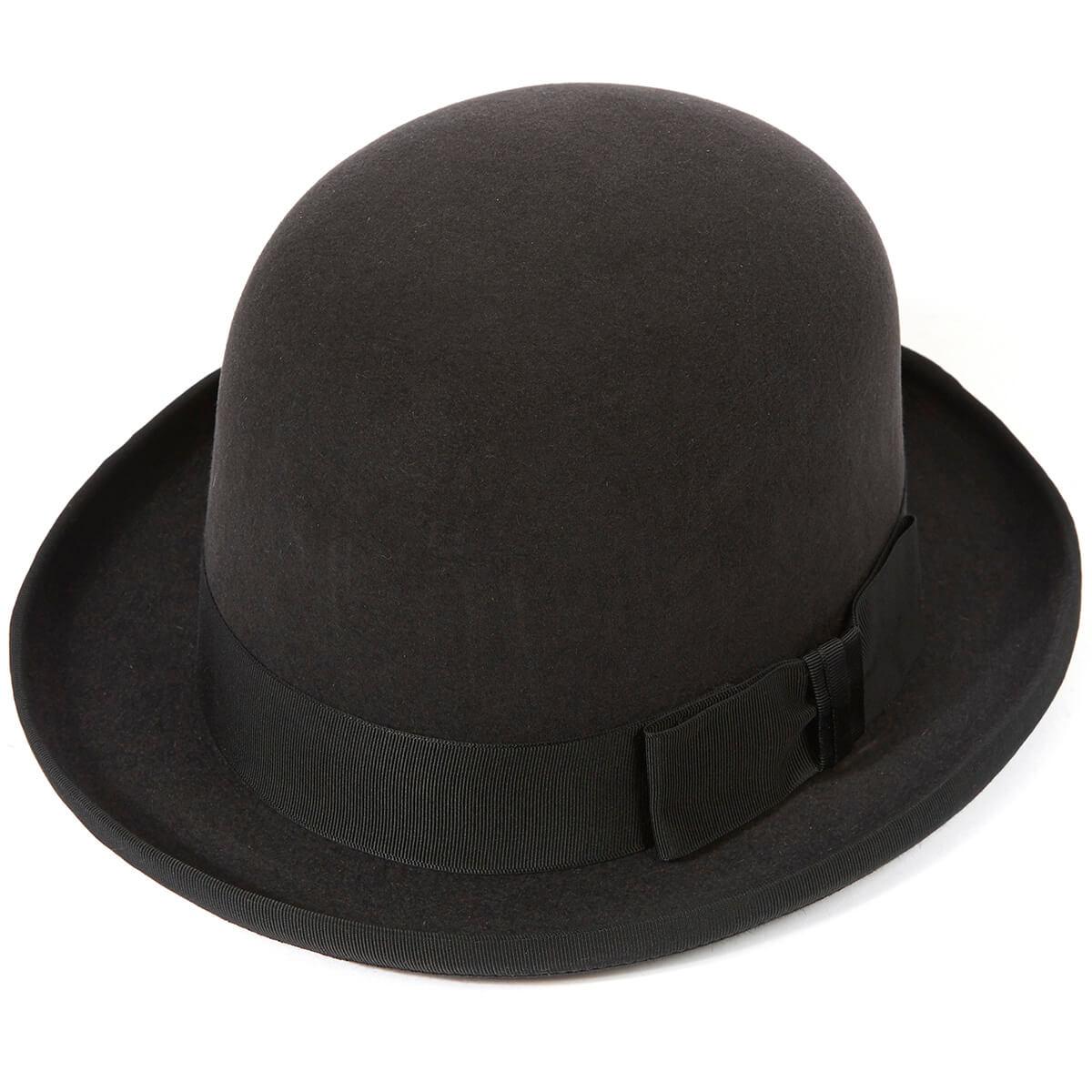 Homburg Hat - DGREY Bessemer in size 58