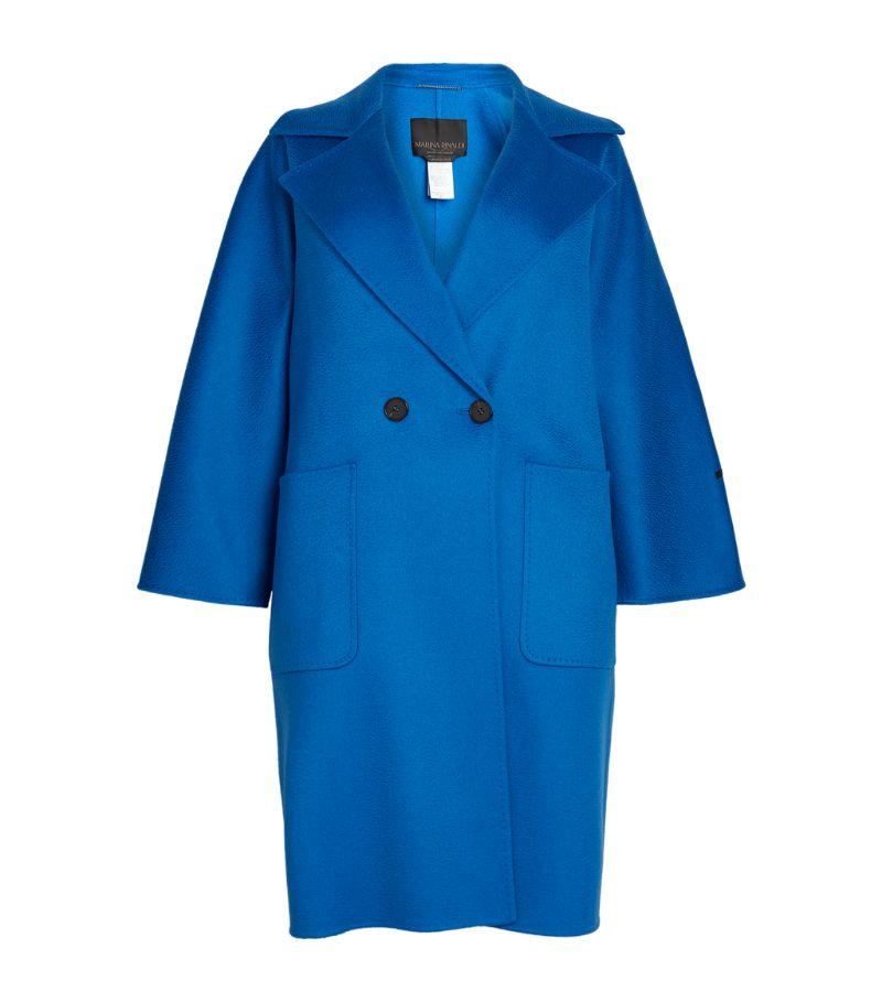 Marina Rinaldi Cashmere Double-Breasted Coat