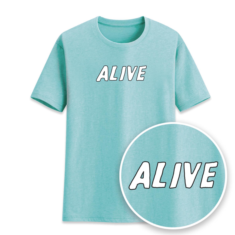 ALIVE短袖衫-NAS35