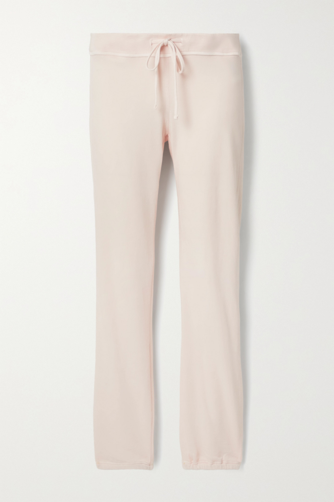 JAMES PERSE - Genie Supima Cotton-terry Track Pants - Pink - 3
