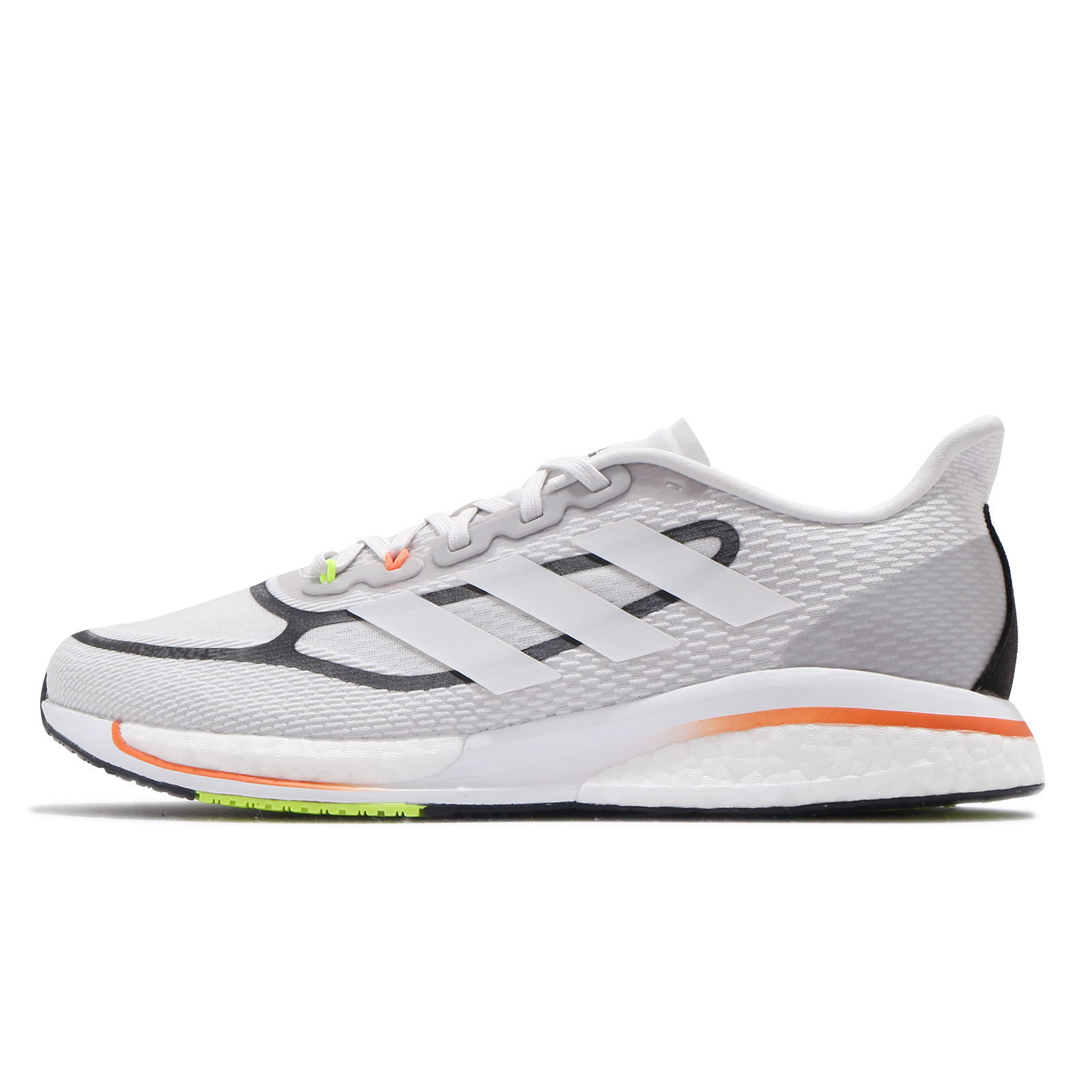 adidas 慢跑鞋 Supernova Plus M 灰 白 橘 綠 男鞋 愛迪達 BOOST【ACS】 FX6651