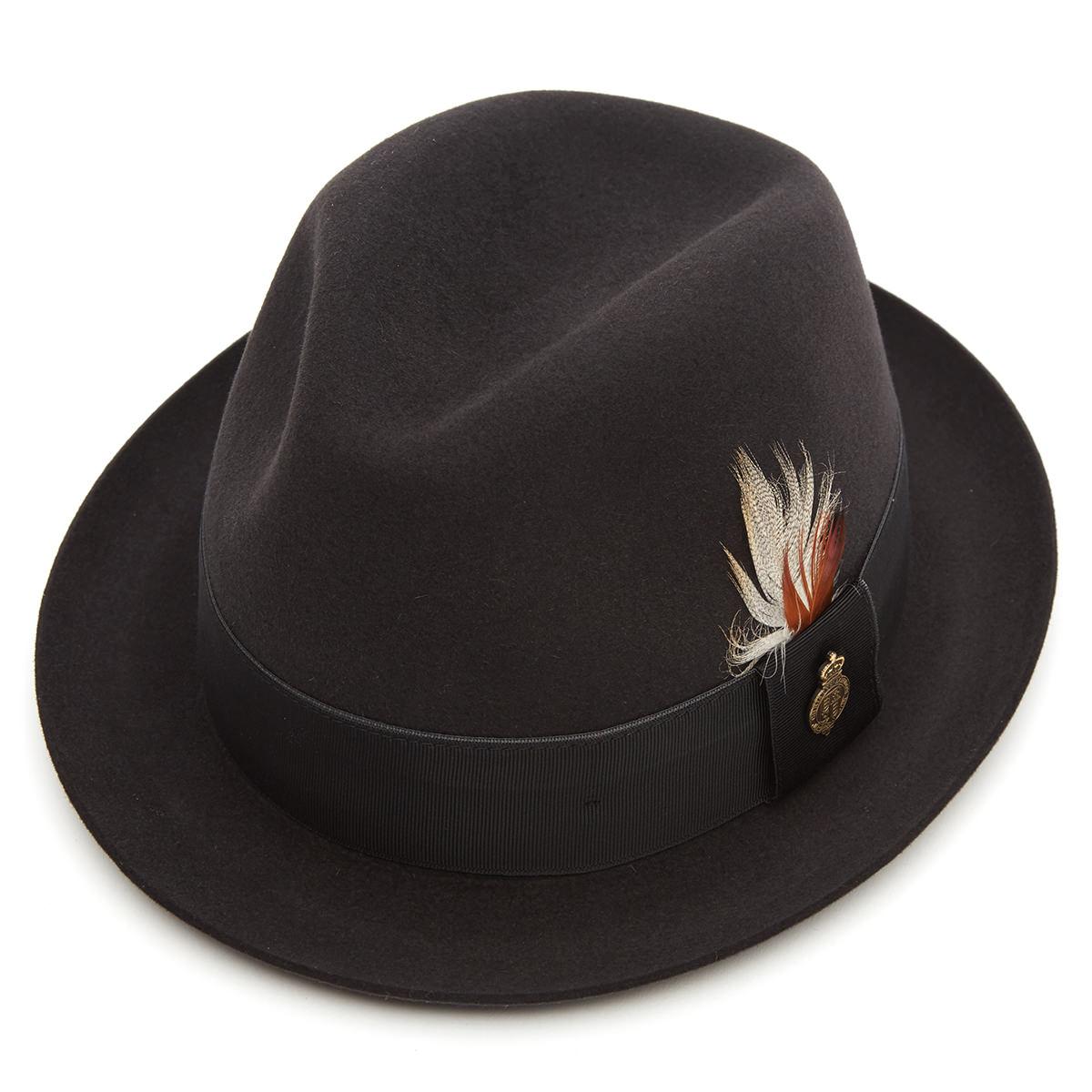 Finchley Fur Felt Trilby Hat Bessemer 60