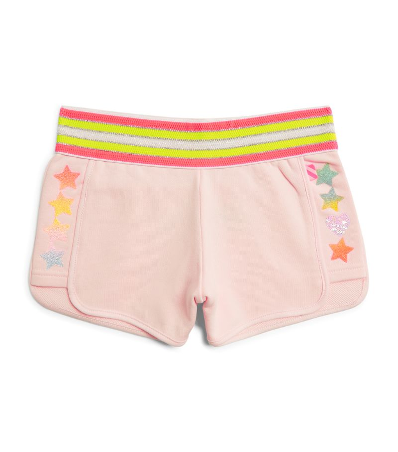 Billieblush Side-Star Track Shorts (4-12 Years)