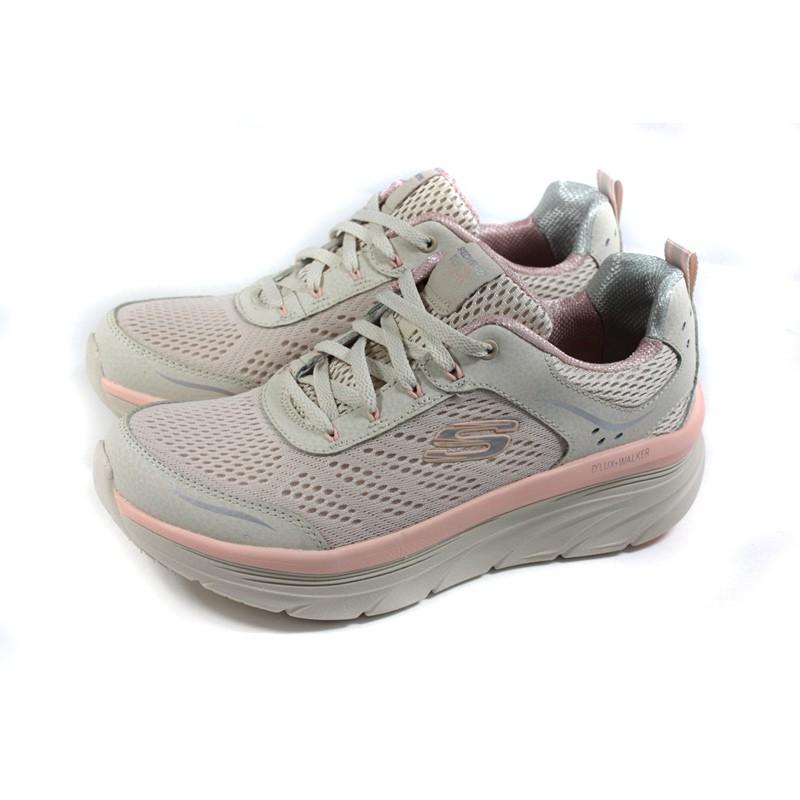 SKECHERS D'Lux Walker 運動鞋 慢跑鞋 女鞋 米色 149023NTPK no858