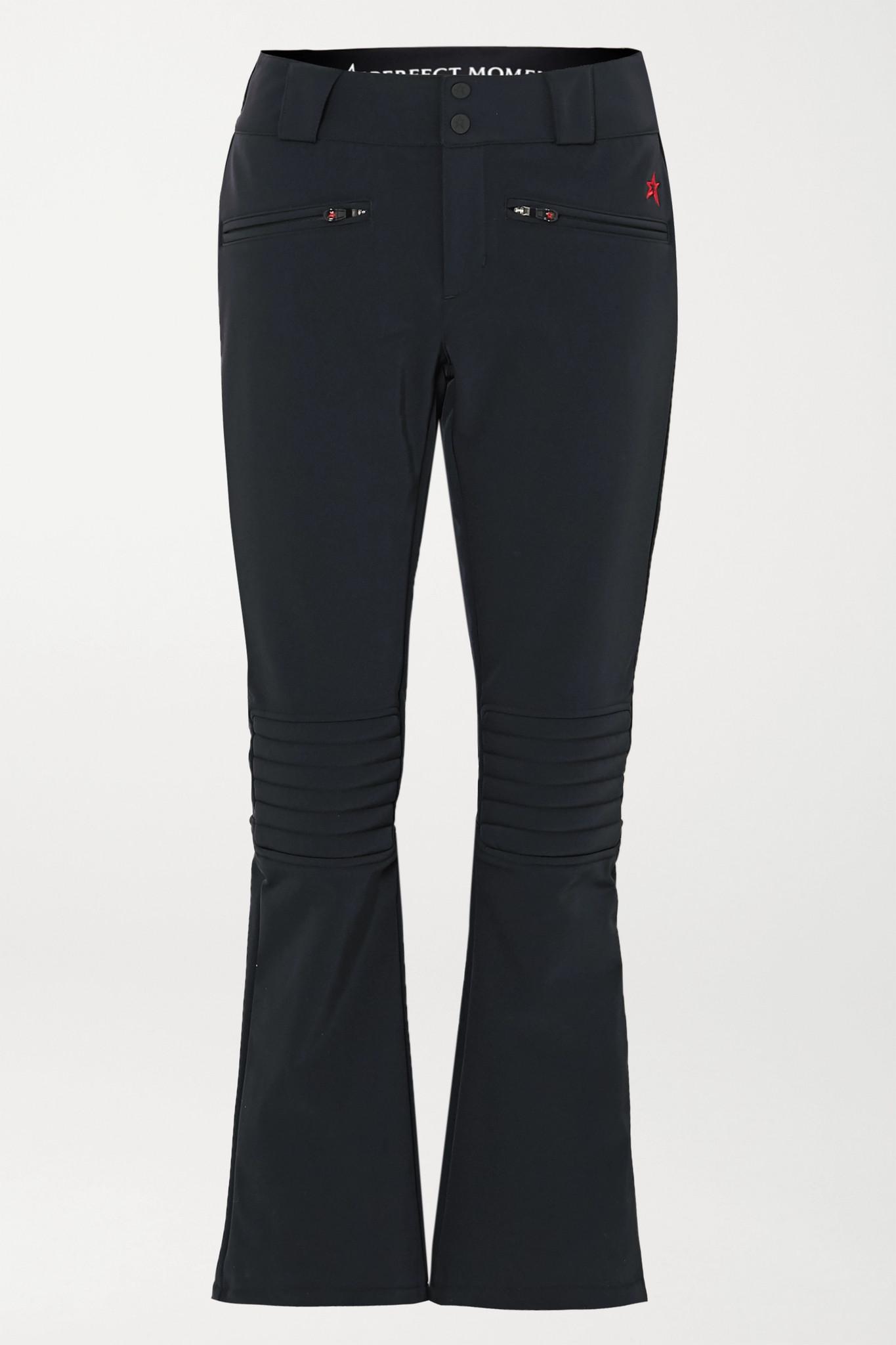 PERFECT MOMENT - Aurora Flared Ski Pants - Black - x small