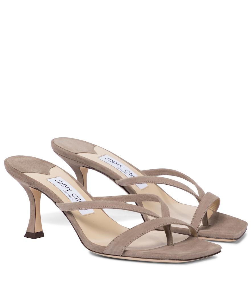 Maelie 70 suede sandals