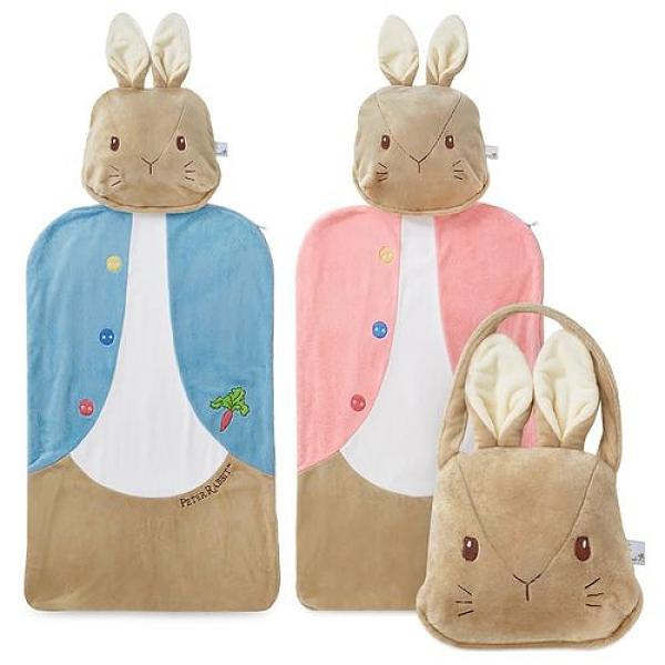 奇哥 比得兔造型幼教睡袋(藍/粉)