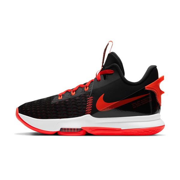 【NIKE】LEBRON WITNESS V EP 籃球鞋 運動鞋 黑紅 男鞋 -CQ9381005