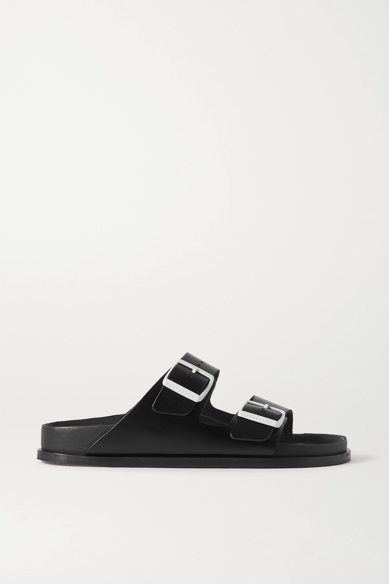 BIRKENSTOCK - Arizona Leather Sandals - Black - IT39