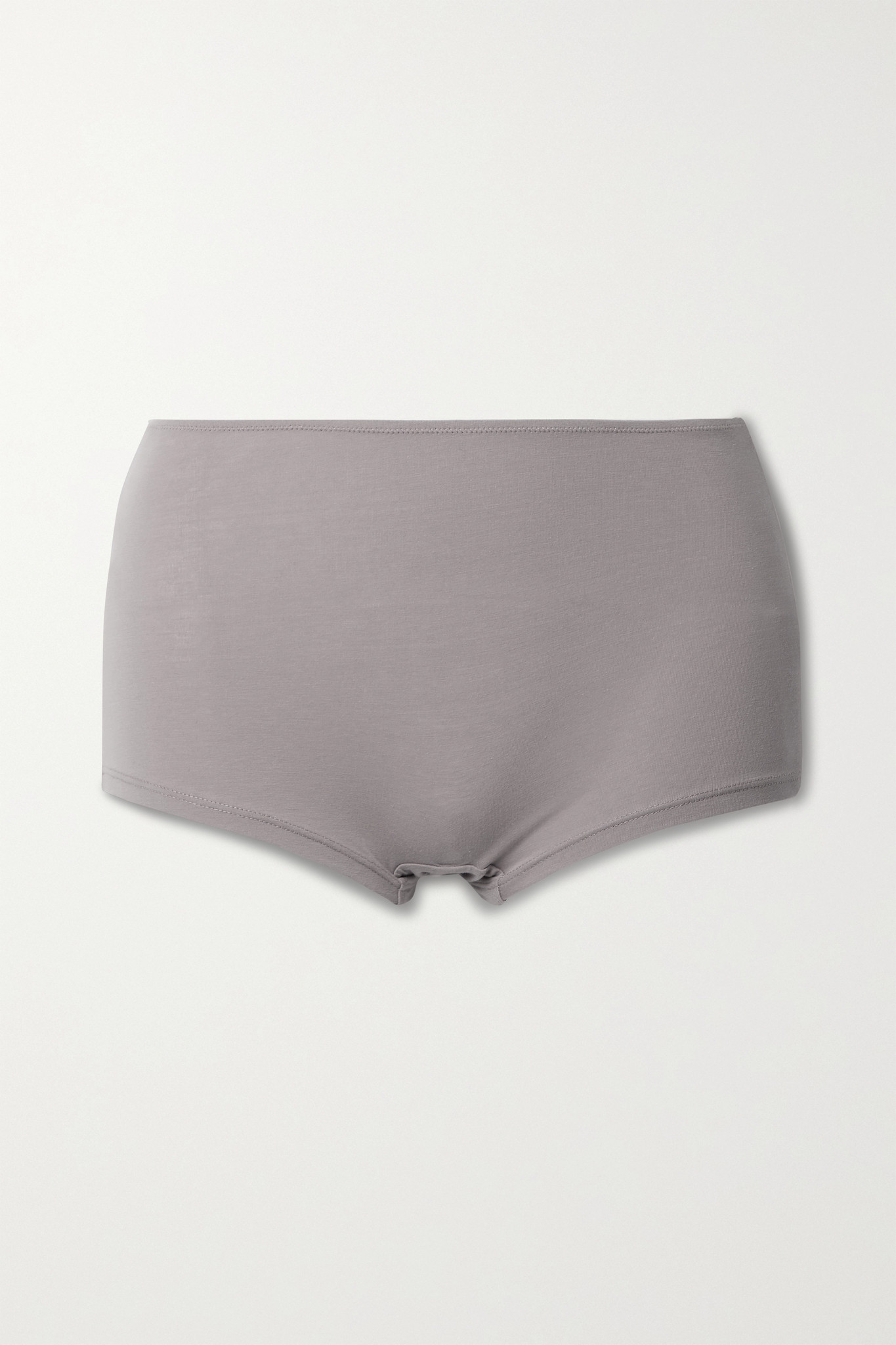 SKIN - 【net Sustain】gayle 弹力有机比马棉质平纹布三角裤 - 中性色 - large