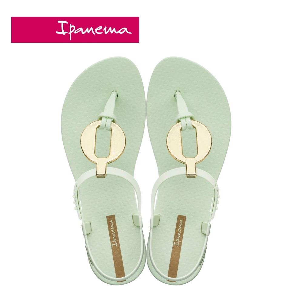 Ipanema [Women]  CLASS  VITTA圓型金屬感裝飾T字涼鞋-薄荷綠(2654424668)