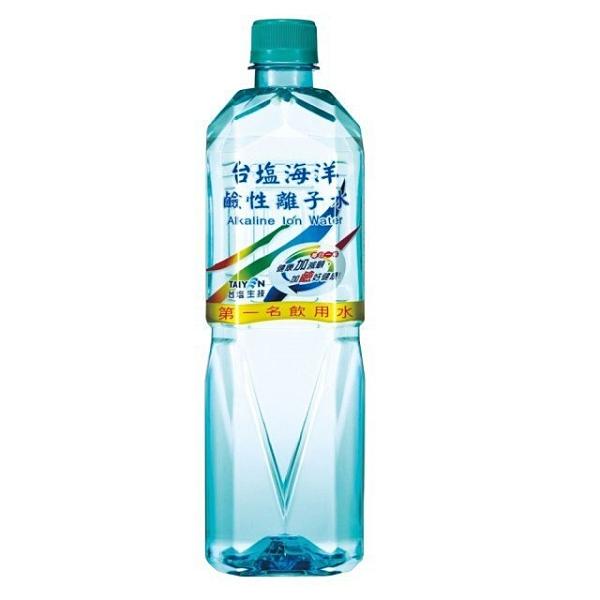 台鹽 海洋 鹼性離子水 600ml 【康鄰超市】