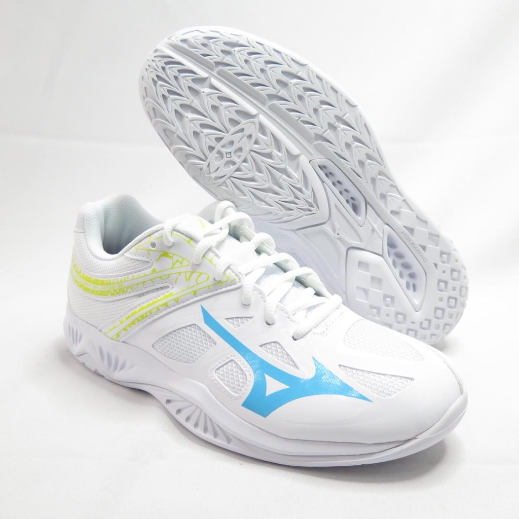 Mizuno THUNDER BLADE 2 男女款 桌排羽球鞋 V1GA197022 白【iSport愛運動】