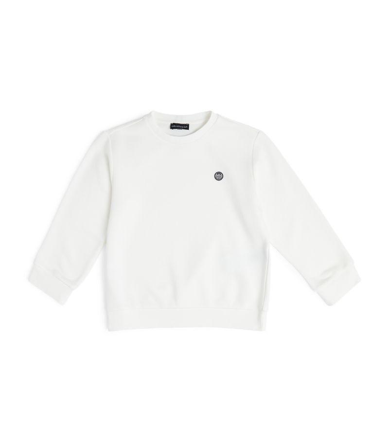 Emporio Armani Kids Eagle Patch Logo Sweatshirt (4-16 Years)