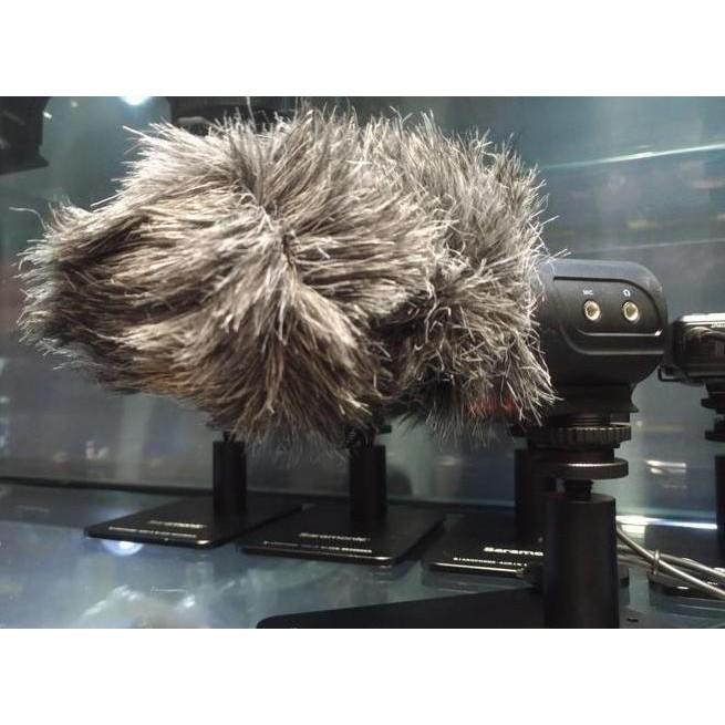 『視界』台灣貨 公司貨 Saramonic 楓笛SR-M3指向性電容式麥克風 可加購毛套