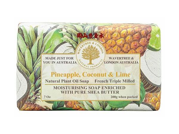 岡山戀香水~澳洲 W&L植物精油香皂-波羅椰子青檸 200g~優惠價145元