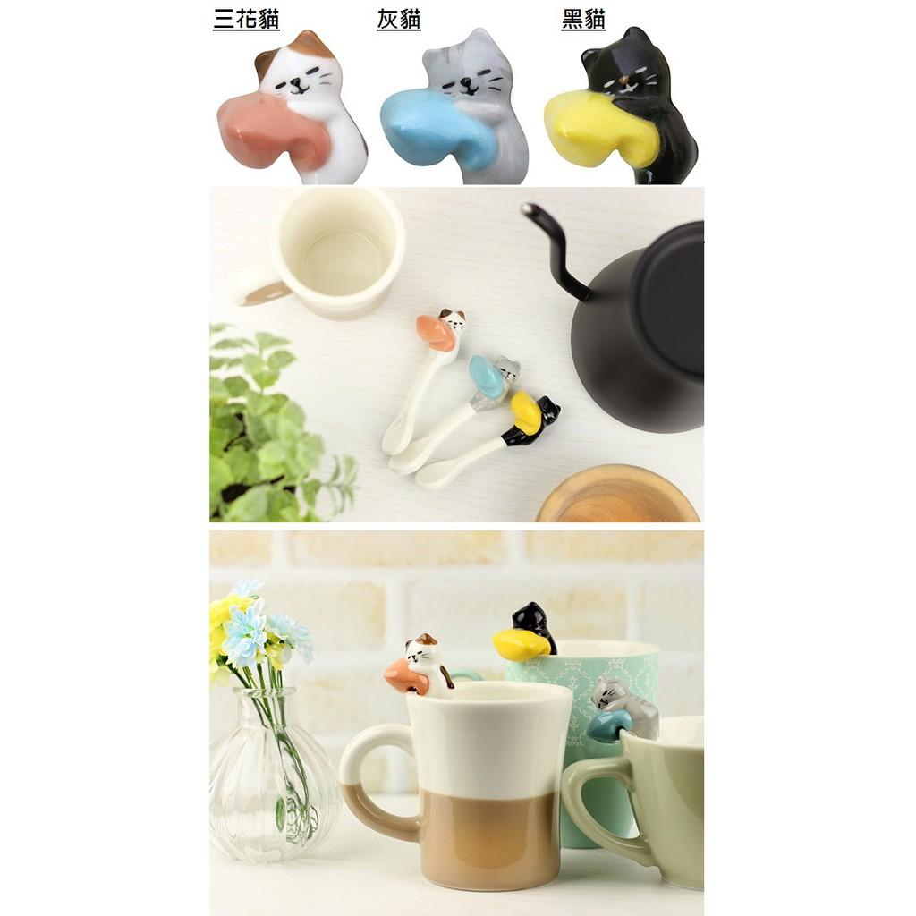 【日本直送】日本製 貓咪餐桌美學 湯匙 杯緣湯匙 貓咖啡勺 (七種可選)