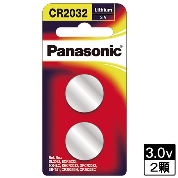 PANASONIC 鋰紐扣電池【愛買】