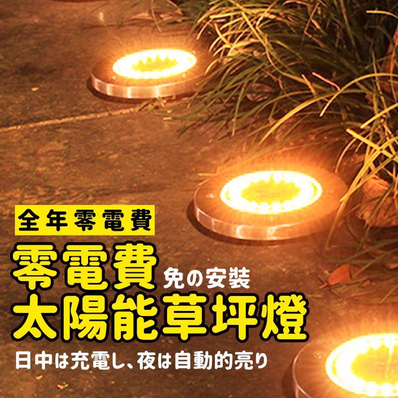 零電費太陽能草坪燈(2 入)