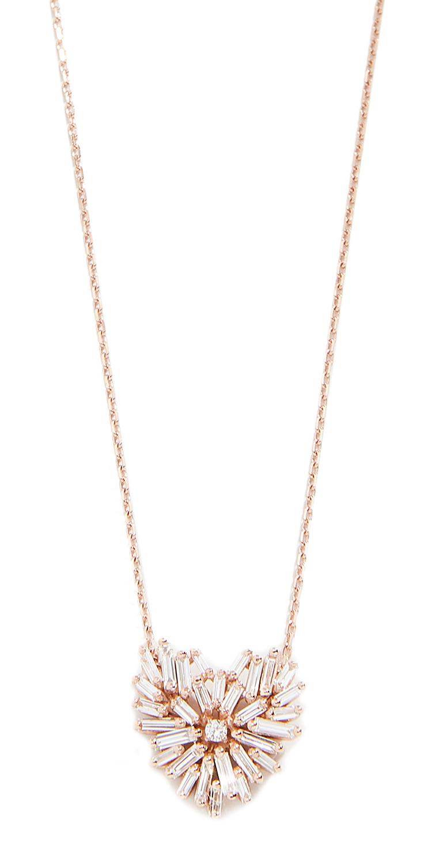 Suzanne Kalan 18k Angel Heart Necklace
