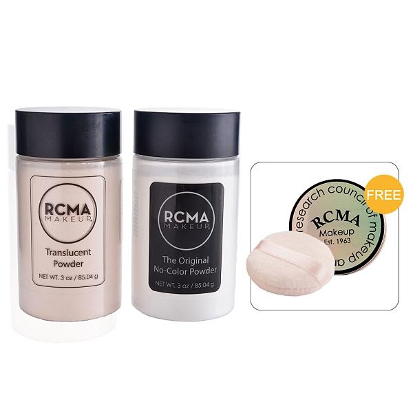 美國RCMA蜜粉 無色蜜粉 透明蜜粉 定妝蜜粉 胡椒蜜粉 美妝學會 85g 送粉盒(大)+粉撲 預購商品