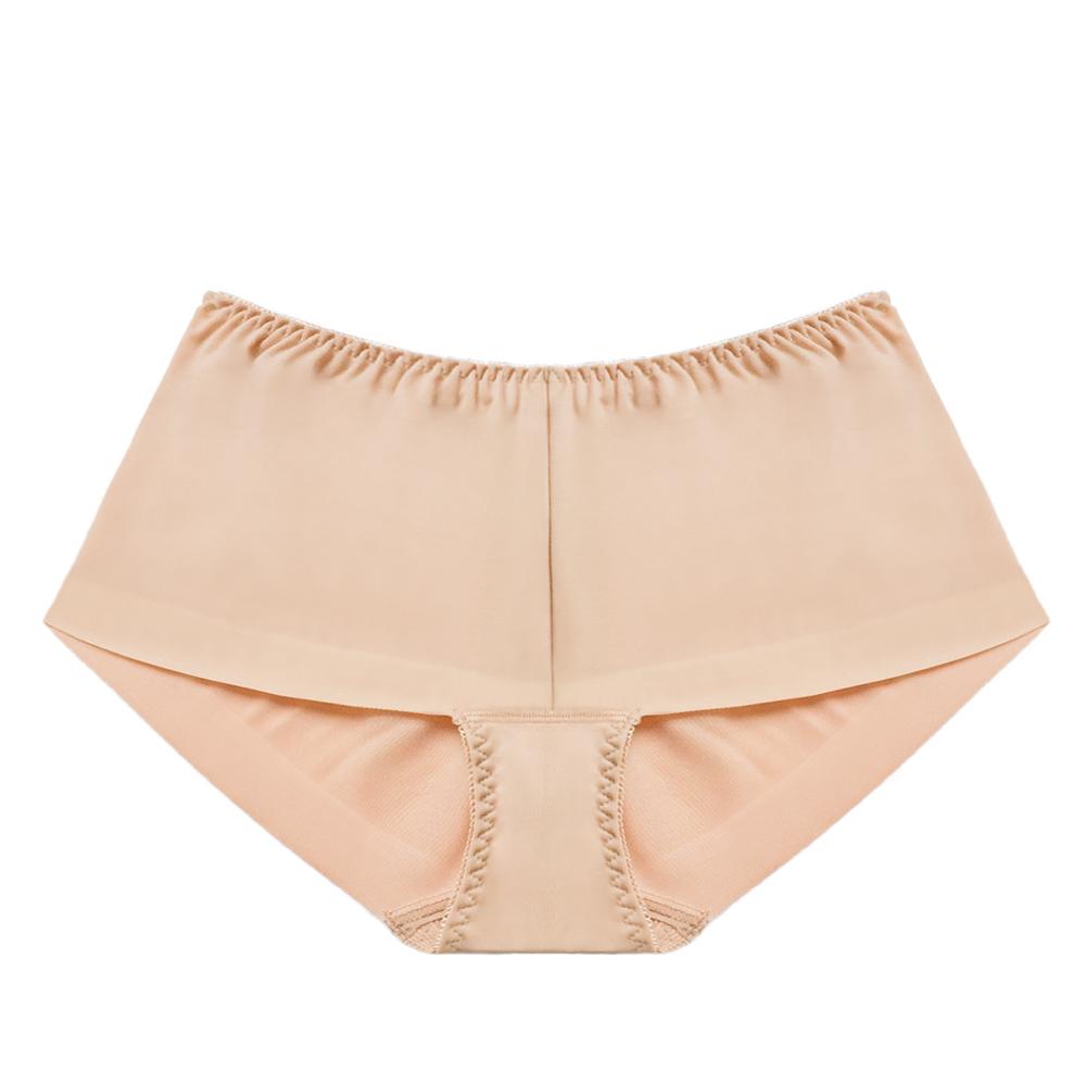 FLORA LOVELY 無痕日本平口褲-駝色