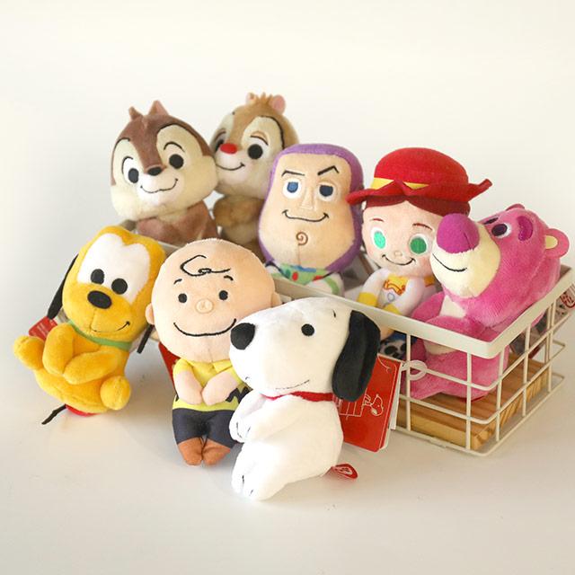 日貨迪士尼T-ARTS攝影娃娃 - Norns 日本Chokkorisan拍照布偶 維尼小豬米奇奇蒂蒂 米妮
