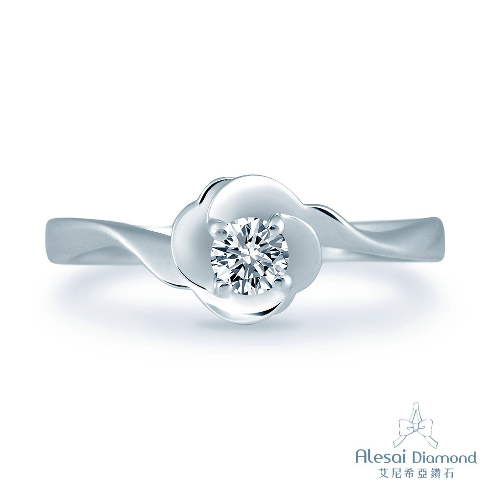 Alesai Diamond 艾尼希亞鑽石 30分 鑽石 輕珠寶 花朵鑽戒